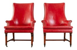 Image of Newly Made Traditional Wingback Chairs