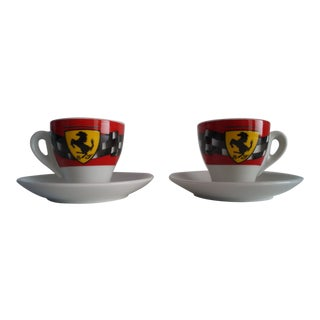 Vintage Mid Modern Espresso Cups - a Pair