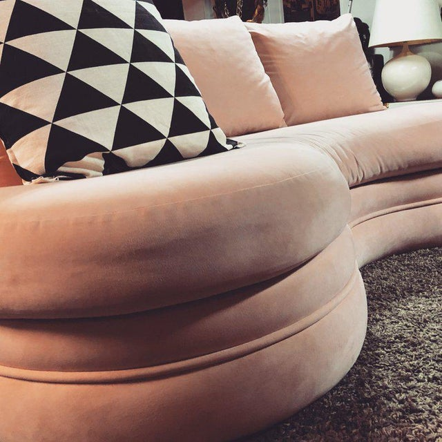 1980s Adrian Pearsall for Comfort Designs Sofas - a Pair For Sale - Image 5 of 8
