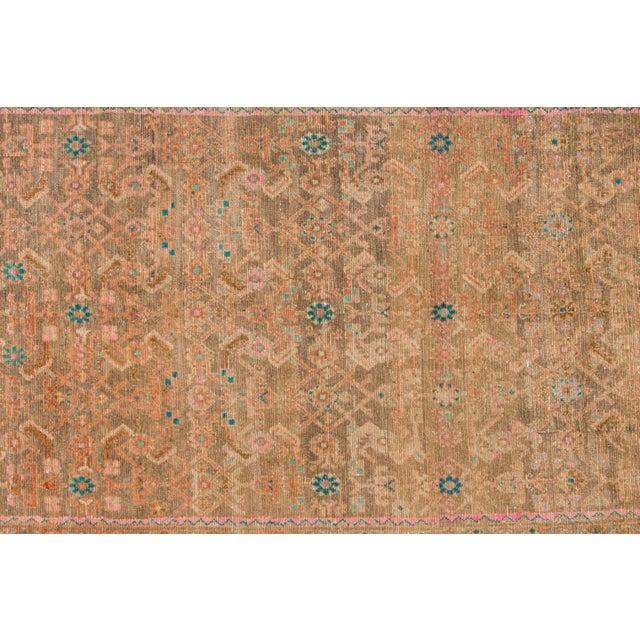 "Islamic Apadana - Vintage Persian Rug, 4'8"" x 12'6"" For Sale - Image 3 of 6"