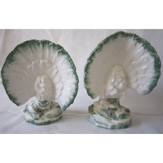 Italian Bird Figurines - a Pair For Sale - Image 4 of 8