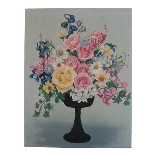 Vintage Shabby Chic Look Still Life For Sale