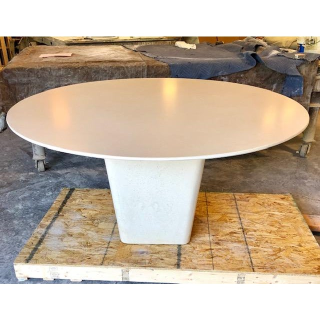 Not Yet Made - Made To Order Contemporary Henderson Concrete Dining Table For Sale - Image 5 of 5