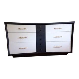 Mid Century Tuxedo Dresser
