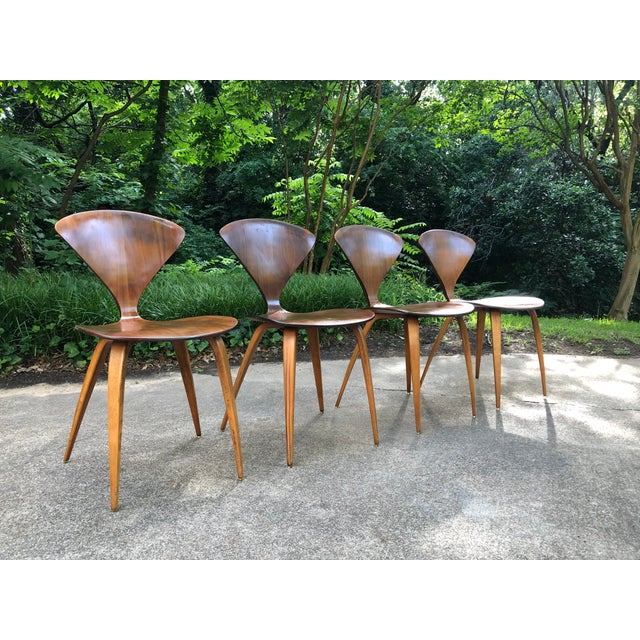 1960s Norman Cherner for Plycraft Chairs - Set of 4 For Sale - Image 5 of 13