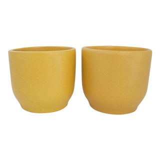 Gainey Pottery Cachepots, Pr For Sale