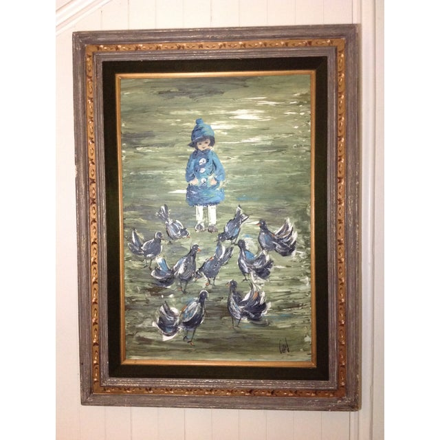 Estacien J. Benjamin Hillside Original Painting - Image 2 of 8