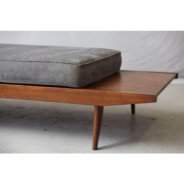 Fabric French Lit De Repos or Daybed by Melior Marchot, 1950s For Sale - Image 7 of 10