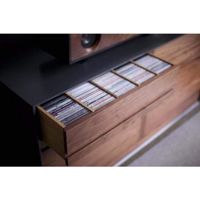 Mid-Century Modern CD Cabinet by Symbol Audio - Image 7 of 11