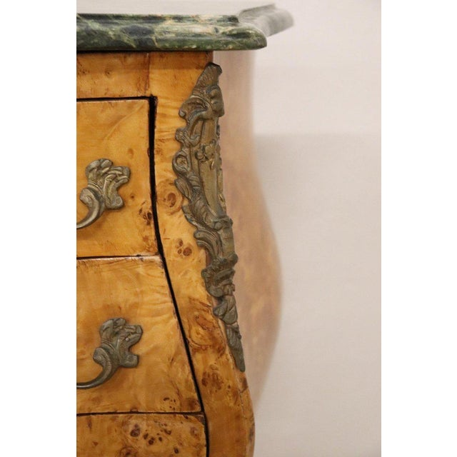 20th Century Italian Venetian Louis XV Style in Wood Burl - a Pair For Sale - Image 6 of 13