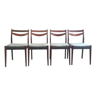 Mid-Century Modern French Chairs - Set of 4 For Sale