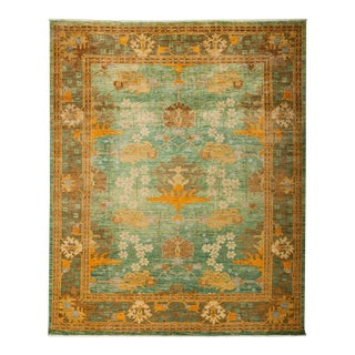 "Arts & Crafts Hand Knotted Area Rug - 8'0"" X 9'7"""