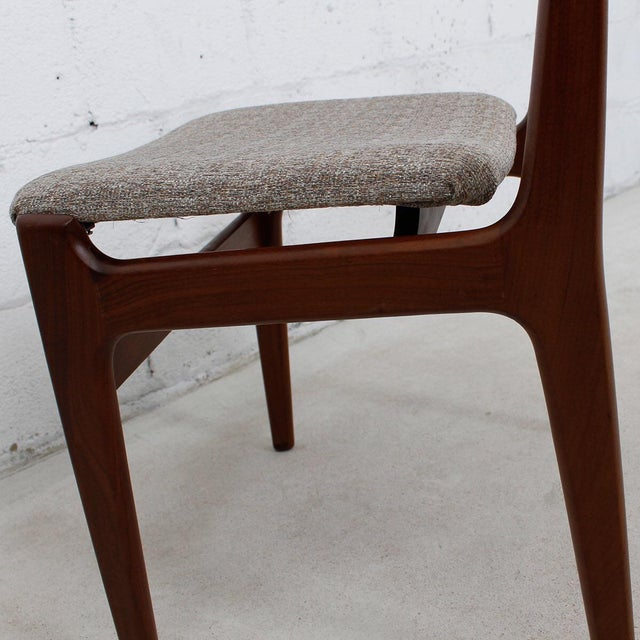 Danish Teak Dining Chairs - Set of 4 - Image 5 of 10