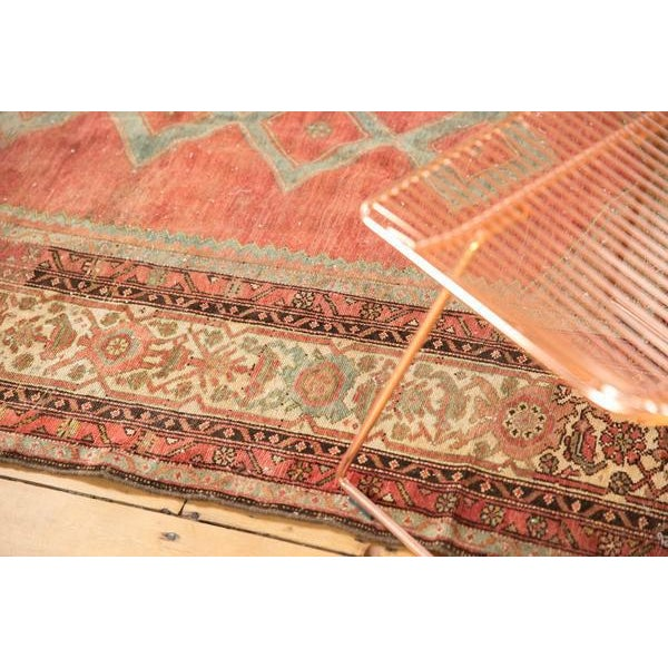 """Old New House Vintage Distressed Malayer Rug - 5' X 7'7"""" For Sale - Image 4 of 13"""