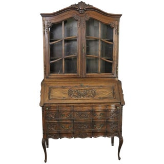 Secretary Bookcase French Country Farmhouse For Sale