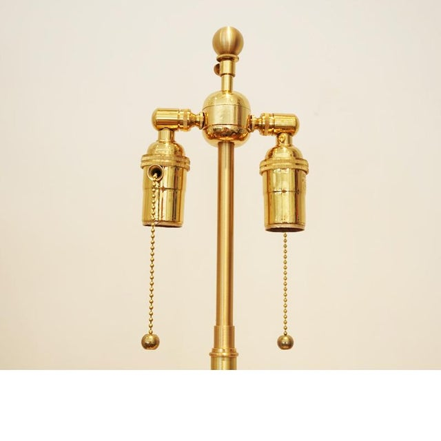 Alabaster Ribbon Lamp - Image 6 of 6