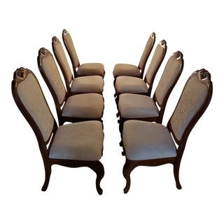 Thomasville Elysee Collection Dining Chairs - Set of 8 For Sale