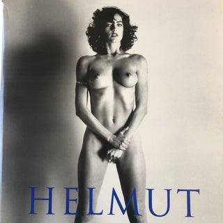 1999 Helmut Newton Sumo Book on Philippe Stark Stand, Signed For Sale