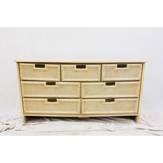Bernhardt Vintage Hollywood Regency Style Dresser For Sale - Image 4 of 10