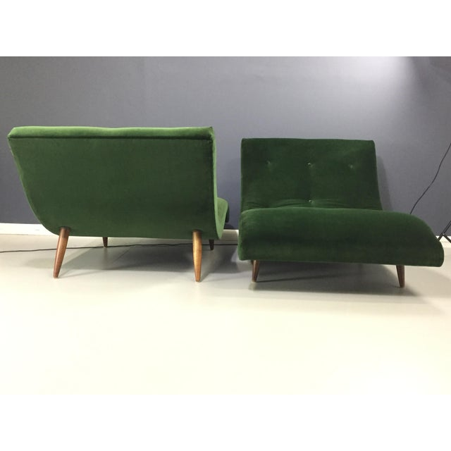 Adrian Pearsall Wave Lounge Chaise - Image 7 of 8