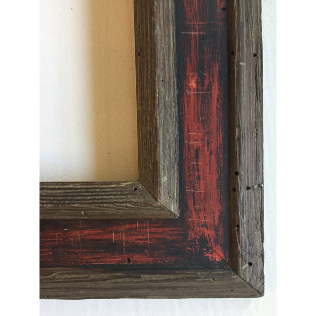 Mid-Century Painted Wormwood Frame - Image 4 of 7