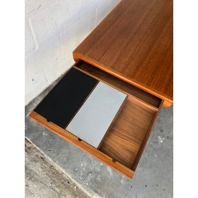 Vintage Mid Century Danish Modern Johannes Andersen Coffee Table for C F C Silkeborg For Sale In Miami - Image 6 of 13