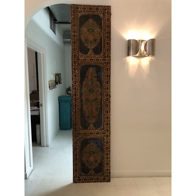 Moroccan Geometric Pattern Single Panel For Sale - Image 4 of 11