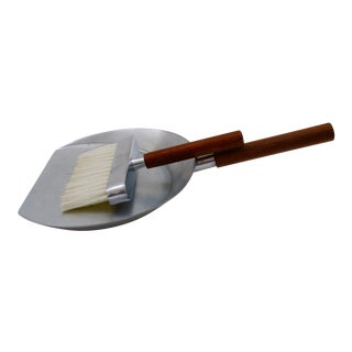 Modern Italian Crumb Brush & Dustpan Silent Butler - A Pair
