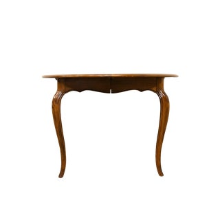 20th Century French Country Ethan Allen Collection Dining Table For Sale