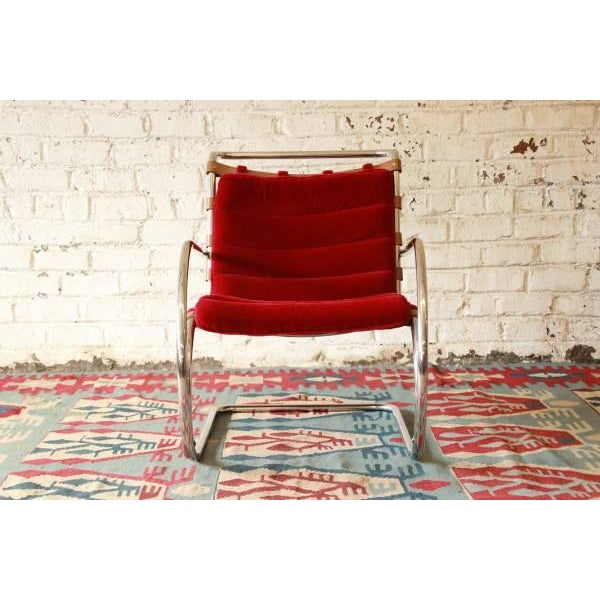 Mies Van der Rohe MR-20 Lounge Chairs - A Pair - Image 8 of 9