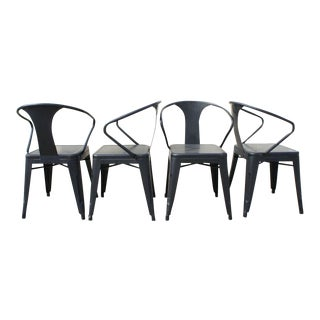 Tolix Dining Chairs- Set of 4 For Sale