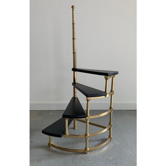 Mid 20th Century Vintage French Spiral Steps For Sale - Image 5 of 5