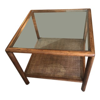 Mid-Century Modern Paul McCobb for Lane Walnut Side Table For Sale