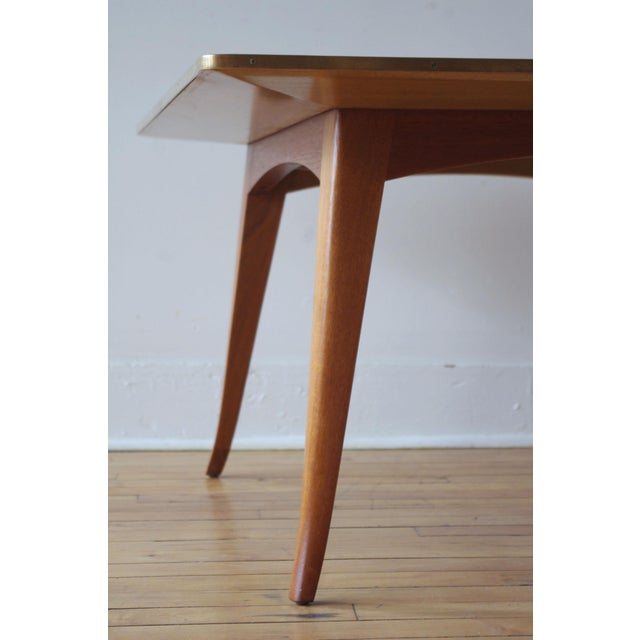 Mahogany Cocktail Table by Edward Wormley for Dunbar For Sale In Boston - Image 6 of 7