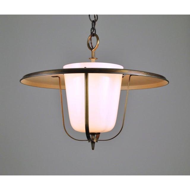 Mid-Century Modern Lantern, Bag Turgi, Switzerland 1950s For Sale - Image 3 of 7