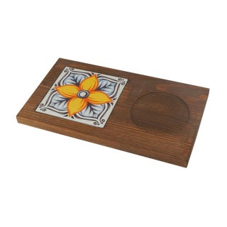 Turkish Tile Coffee Table With Pine Tree - Ceramic Coffee Presentation For Sale