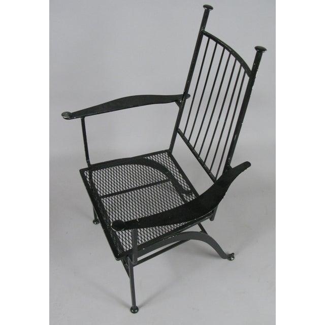 Set of Ten Rare Salterini El Prado Chairs For Sale In New York - Image 6 of 13