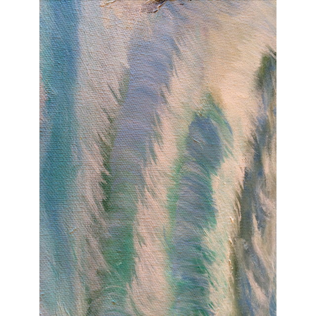 """Sunset on the Ocean"" Painting For Sale - Image 5 of 5"