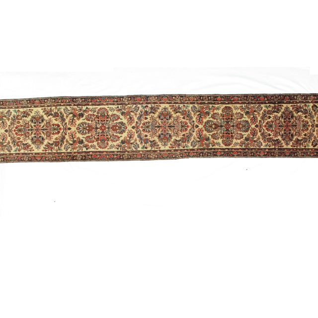 "Islamic Leon Banilivi Antique Hamadan - 2'5"" X 14'8"" For Sale - Image 3 of 5"