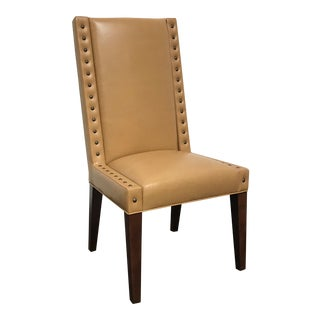 RJones Leather Warwick Chair For Sale