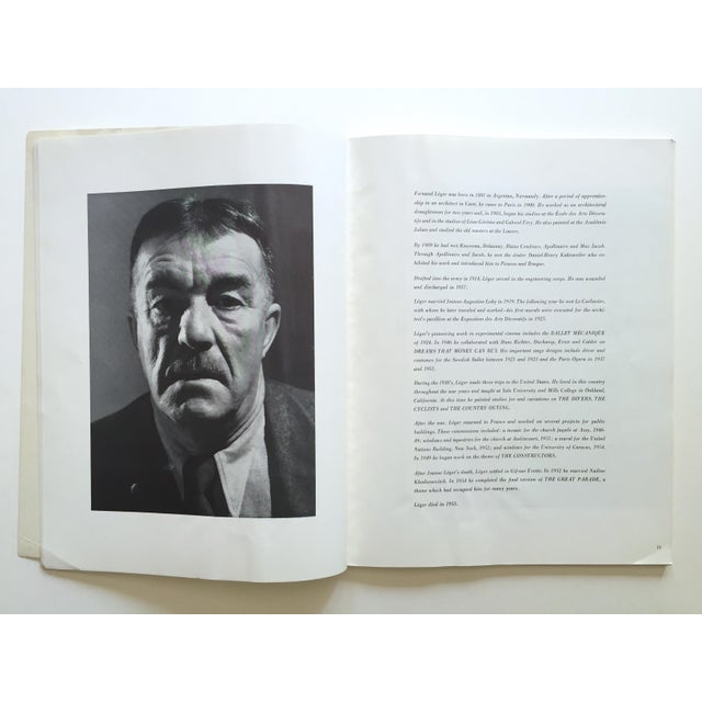 """Fernand Leger Rare Vtg 1962 Lmtd Edtn """" Five Themes & Variations """" Guggenheim Museum Exhibition Catalogue Collector's Art Book For Sale - Image 12 of 13"""