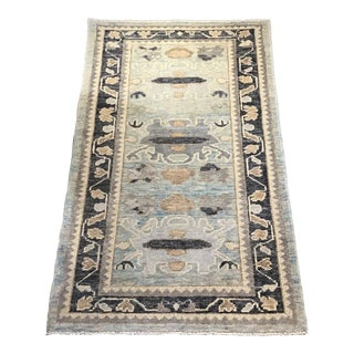 Hand Woven Turkish Oushak Rug For Sale
