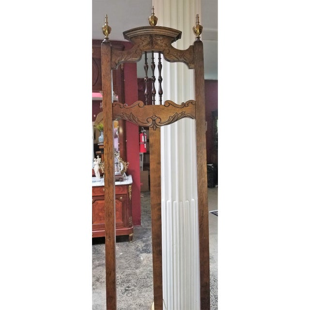 Victorian Eastlake Large and Decorative Easel For Sale In Dallas - Image 6 of 11