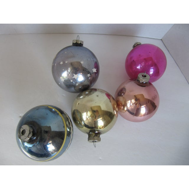 Christmas Ornaments Shiny Brite - S/5 - Image 6 of 6