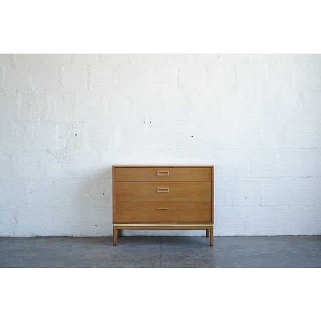 Mid-Century Modern 1950s Drexel Lowboy Dresser For Sale - Image 3 of 4