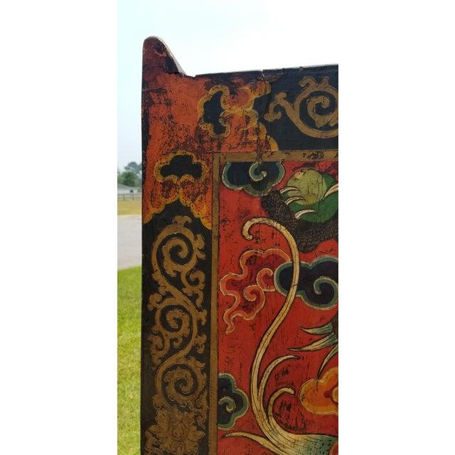 Asian Antique Late 19th Century Antique Tibetan Monastery Door For Sale - Image 3 of 12