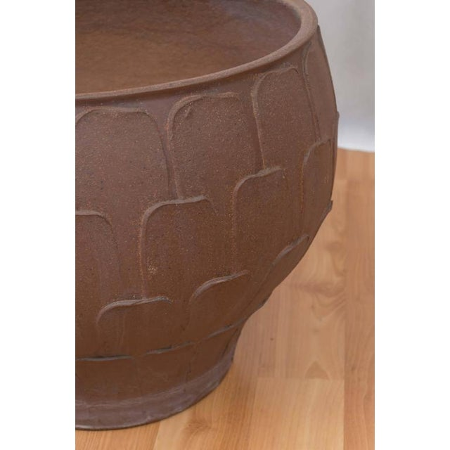 """David Cressey for Architectural Pottery """"Thumb Print"""" Planter For Sale In San Francisco - Image 6 of 6"""