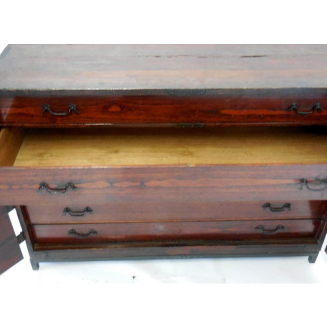 Japanese 18th Century Chest - Image 4 of 8