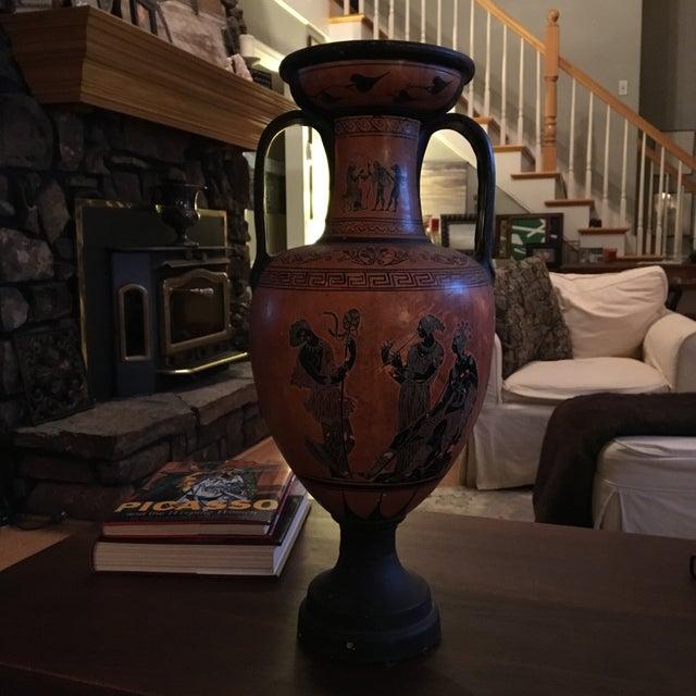 Greek Double Handle Vase - Image 9 of 10