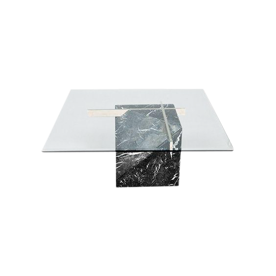 Superieur Artedi Marble Base And Glass Top Coffee Table